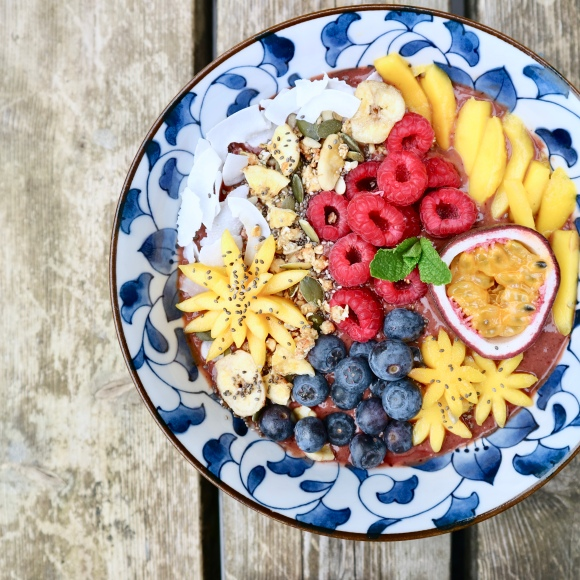 Smoothiebowl Mango/Acai Recipe