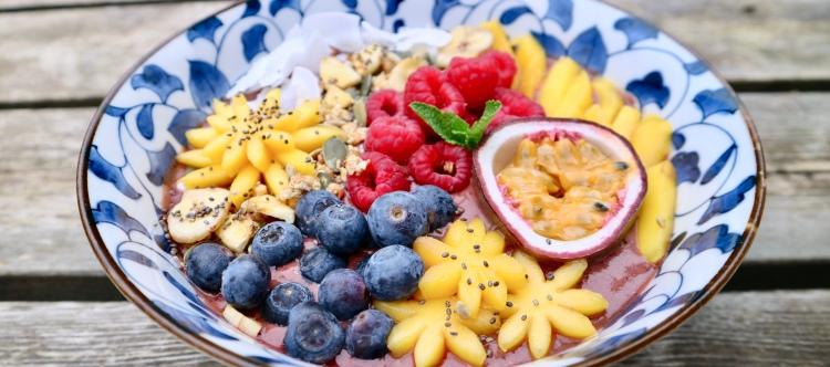 Smoothiebowl Mango/Acai Recipe